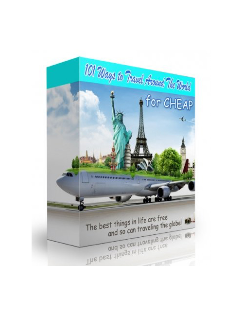 101 ways to travel around the world for cheap plr for Travel the world for cheap