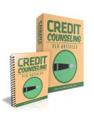 credit counseling plr articles with private label rights is a great pack of 10 plr articles