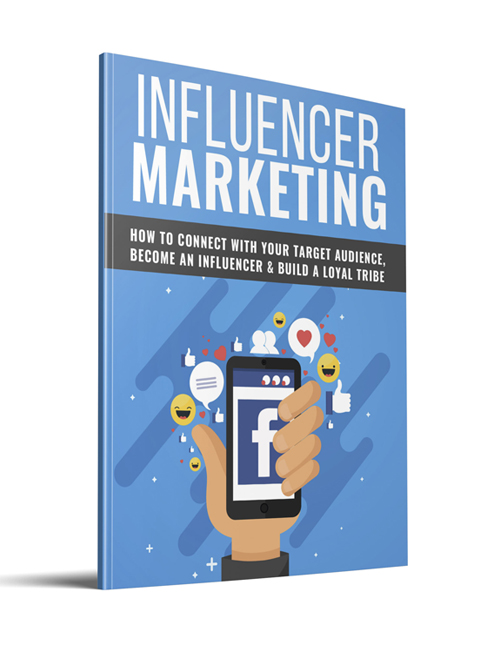 influencer marketing plr ebook with private label rights shows you how to become an influencer in your chose market