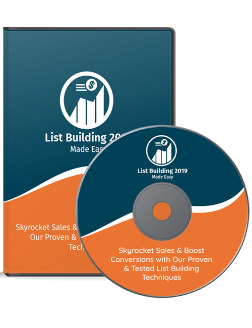 list building 2019 made easy plr video shows you how to build a massively powerful list of subscribers and customers