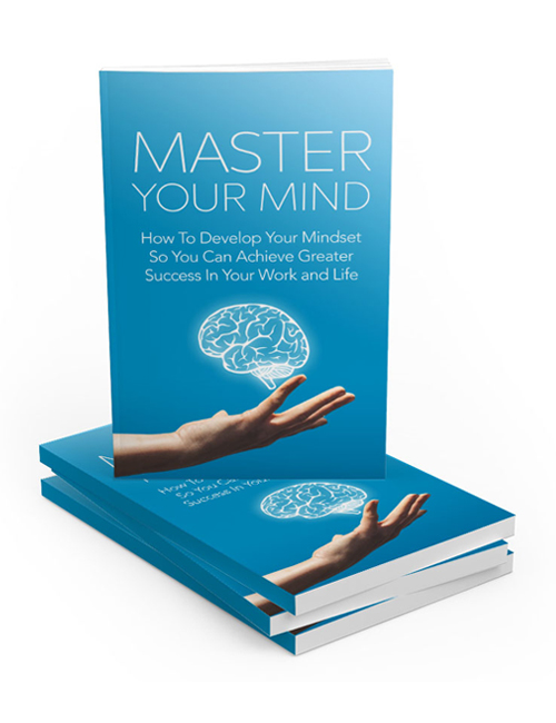 master your mind plr ebook with master resell rights will help you become successful when you master the power of your mind