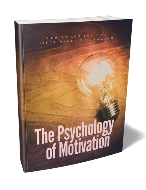 psychology of motivation plr ebook with master resell rights can help you get motivated to overcome life's obstacles