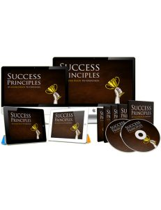 success principles plr videos with master resell rights helps you get on the road to success