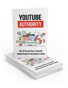 youtube authority plr ebook with master resell rights shows you how to make money with a youtube channel