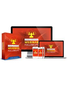 foolproof webinar followups plr videos with private label rights shows you how to increase your sales and conversions from your webinars