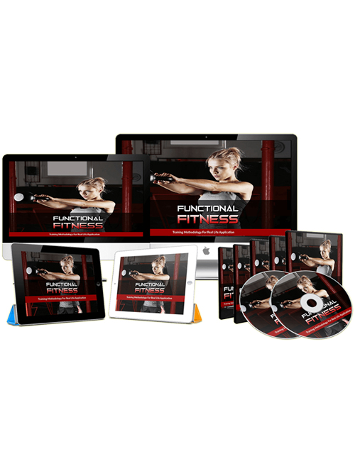 functional fitness plr videos with master resell rights shows you how to workout like a pro for optimal results right from your bedroom