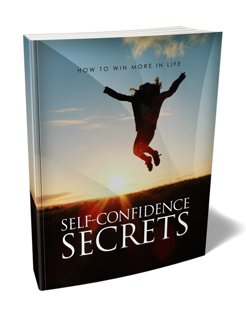 self confidence secrets plr ebook with master resell rights shows you how to become more confident
