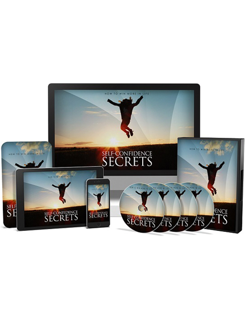 self confidence secrets plr videos with master resell rights shows you how you can become more self confident and achieve anything