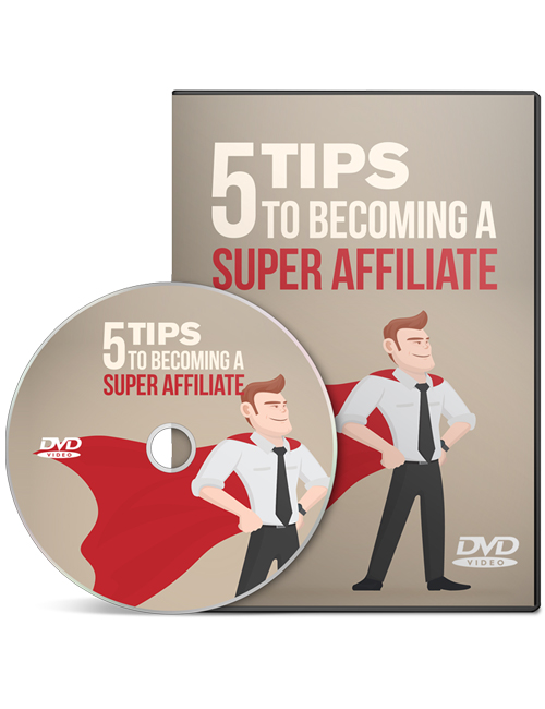 5 tips to becoming a super affiliate shows you how to make money at the highest level in the affiliate marketing industry