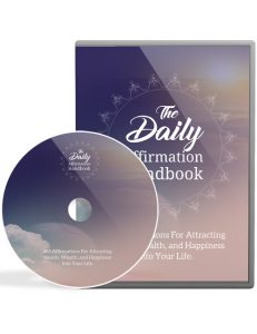 daily affirmation handbook plr videos shows you how to accomplish everything you dream of