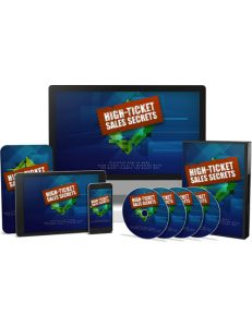 high ticket sales secrets plr videos shows you how to sell high ticket items like a pro