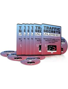 traffic secrets unleashed plr videos shows you how to boost your traffic through several powerful sources