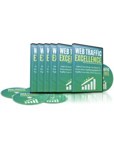 web traffic excellence plr videos shows you how to generate a ton of traffic through several sources