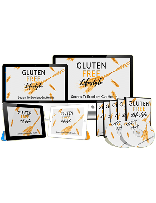 gluten free lifestyle plr ebook gives you the info you need to adopt the gluten free diet for enormous health benefits