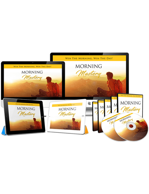 morning mastery plr videos is your wake up call to start your morning the right way to achieve your full potential throughout the day