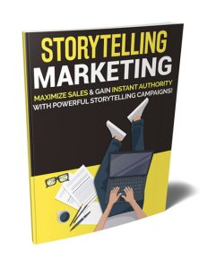 storytelling marketing plr ebook shows you how to tell a story to boost your brand