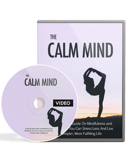 the calm mind plr videos helps you gain a calm mind through mediation and eliminate anxiety and stress