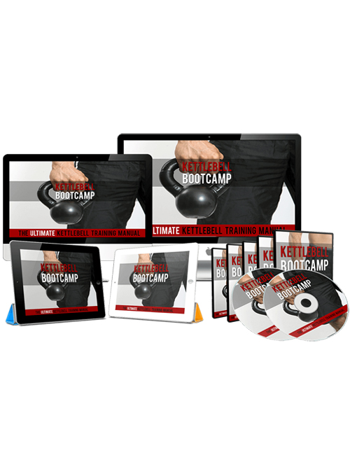 kettlebell bootcamp plr videos shows you how to get in shape through the kettlebell workout program