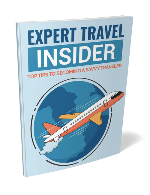 expert travel insider plr ebook shows you how to prepare to travel to minimize mistakes during your trip