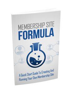 membership site formula plr ebook shows you how to build a powerful membership site for recurring revenue