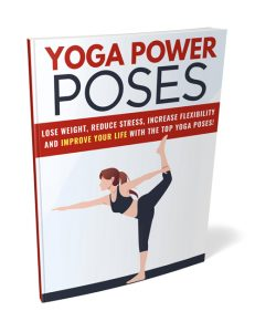 yoga power poses plr ebook shows you the various forms of yoga exercises to help you achieve better health and fitness
