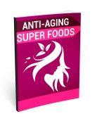 Anti Aging Super Foods PLR Ebook shows you how to knock years off your looks and regain your youth