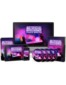 Artificial Intelligence in Digital Marketing PLR Videos shows you the way forward with Artificial Intelligence and how it's being utilized today in the online marketing industry