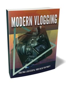 Modern Vlogging PLR Ebook shows you how to make it big and profit huge as a vlogger