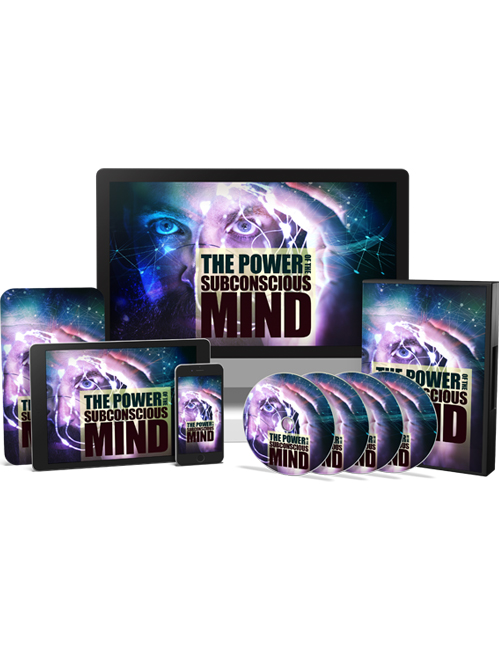 The Power of the Subconscious Mind gives you the knowledge in finding your inner confidence and achieving bigger things in your life