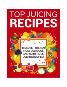 Top Juicing Recipes PLR Ebook shows you how to get healthier with fruits and vegetables
