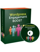 Wordpress Engagement Boost PLR Videos shows you the way to engaging with your users to create a seamless user experience leading to more subscribers and profits